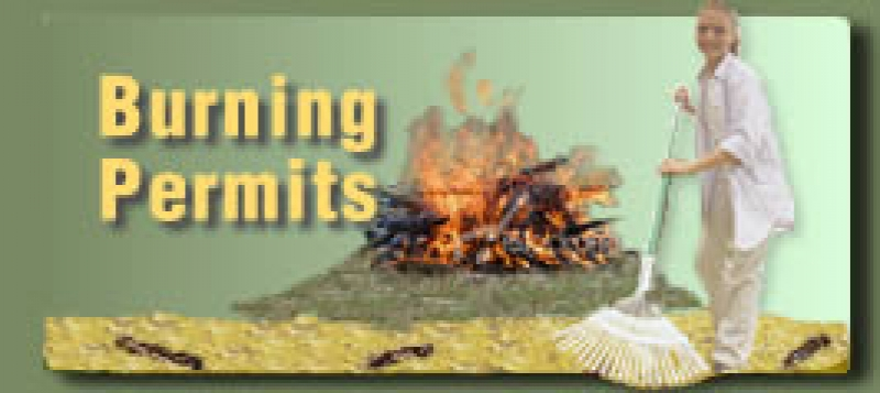 Burn permits required until may 15th